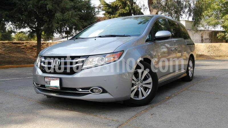 Honda Odyssey EXL usado (2016) color Plata Dorado precio $340,000