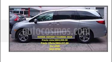 Honda Odyssey 5p Touring V6/3.5 Aut usado (2019) color Plata precio $804,357