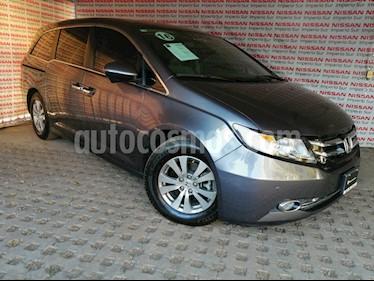 Honda Odyssey EXL usado (2016) color Gris Humo precio $395,000