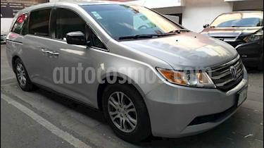 Honda Odyssey 5p EXL minivan aut CD q/c usado (2011) color Plata precio $233,000