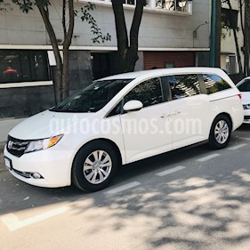 Honda Odyssey EXL usado (2015) color Blanco precio $340,000