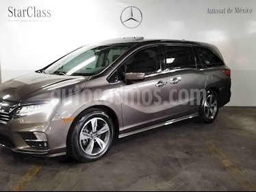 Honda Odyssey 5p Touring V6/3.5 Aut usado (2018) color Gris precio $649,000