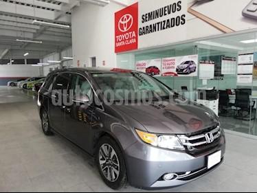 Honda Odyssey 5P TOURING V6/3.5 AUT usado (2014) color Gris precio $330,000