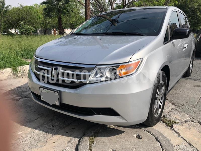 Honda Odyssey EXL usado (2011) color Plata precio $189,000