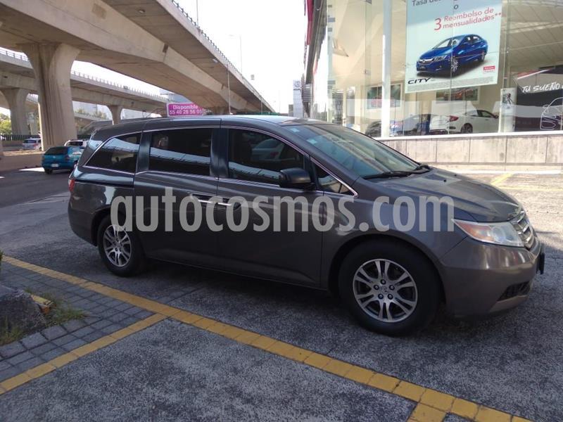 Honda Odyssey LX usado (2012) color Gris Oscuro precio $210,000