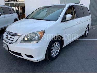 Honda Odyssey 5p EXL minivan aut CD q/c usado (2010) color Blanco precio $169,000