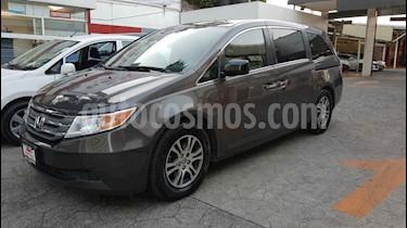 Honda Odyssey 5p EXL minivan aut piel DVD usado (2013) color Gris precio $268,000