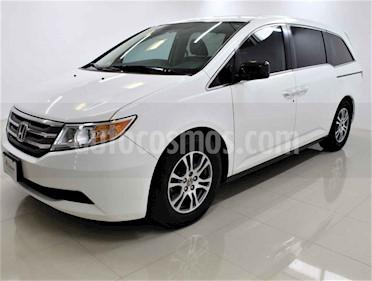 Honda Odyssey 5p EXL minivan aut piel DVD usado (2013) color Blanco precio $248,000