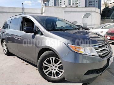 Honda Odyssey EXL usado (2013) color Gris precio $250,000