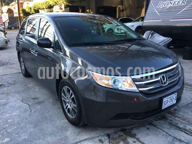 Honda Odyssey EXL usado (2013) color Cafe precio $239,000