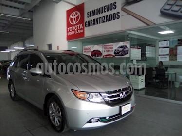 Honda Odyssey 5P EXL V6/3.5 AUT usado (2014) color Plata precio $305,000