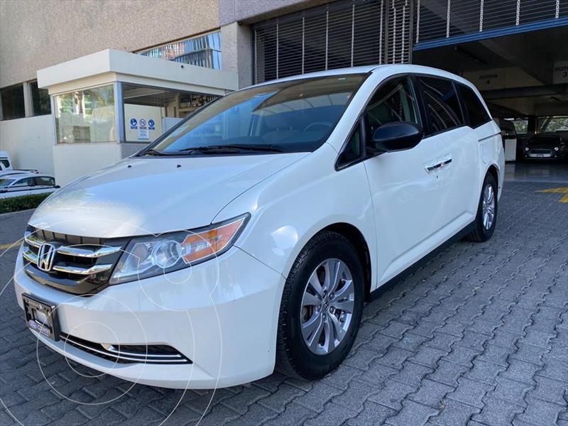 Honda Odyssey LX V6/3.5 AUT usado (2015) color Blanco precio $298,000