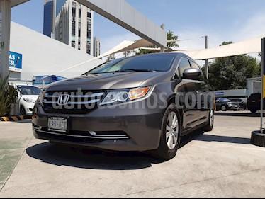 Honda Odyssey EX usado (2015) color Gris Humo precio $274,000