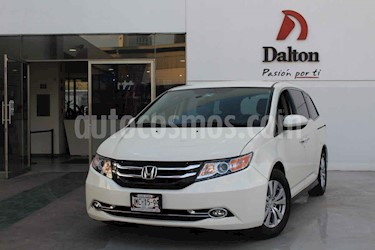 Honda Odyssey 5p LX V6/3.5 Aut usado (2015) color Blanco precio $289,000