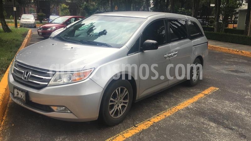 Honda Odyssey EXL usado (2013) color Plata precio $235,000