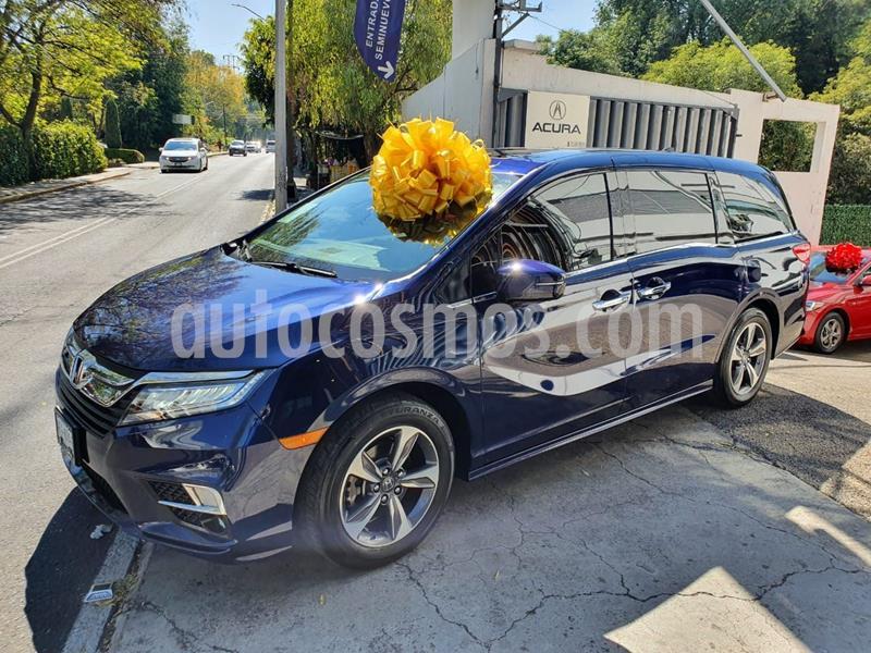 Honda Odyssey Touring usado (2019) color Azul Marino precio $652,900