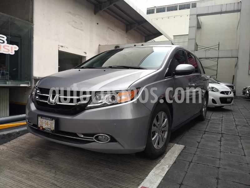 Honda Odyssey EXL usado (2016) color Plata precio $365,000