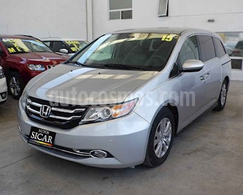 Honda Odyssey EXL usado (2015) color Plata precio $289,000