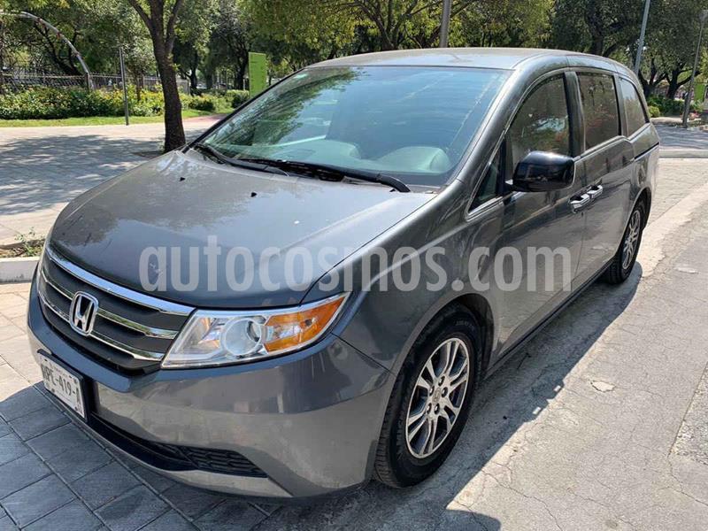 Honda Odyssey EXL usado (2013) color Gris precio $269,900