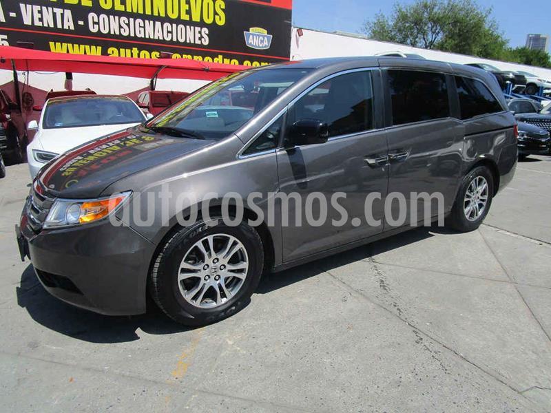 Honda Odyssey EXL usado (2013) color Gris precio $235,000