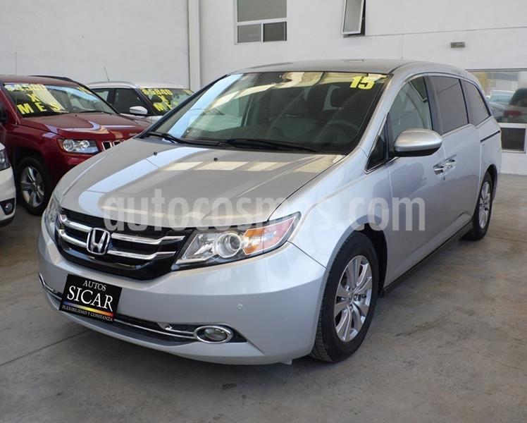 Honda Odyssey EXL usado (2015) color Plata Dorado precio $289,000