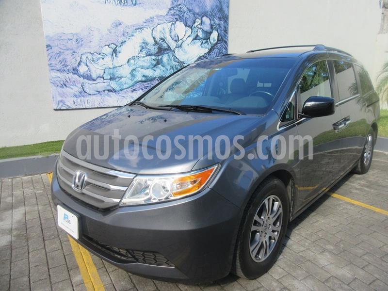 Honda Odyssey EXL usado (2012) color Gris precio $214,000