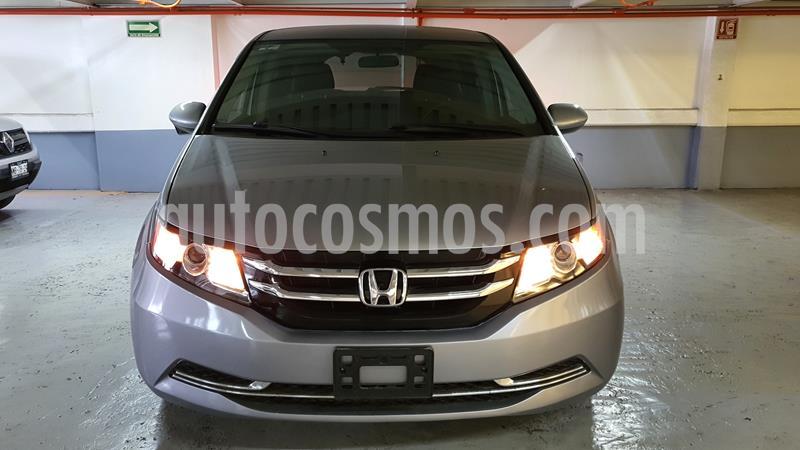 Honda Odyssey EX usado (2016) color Gris Humo precio $355,000