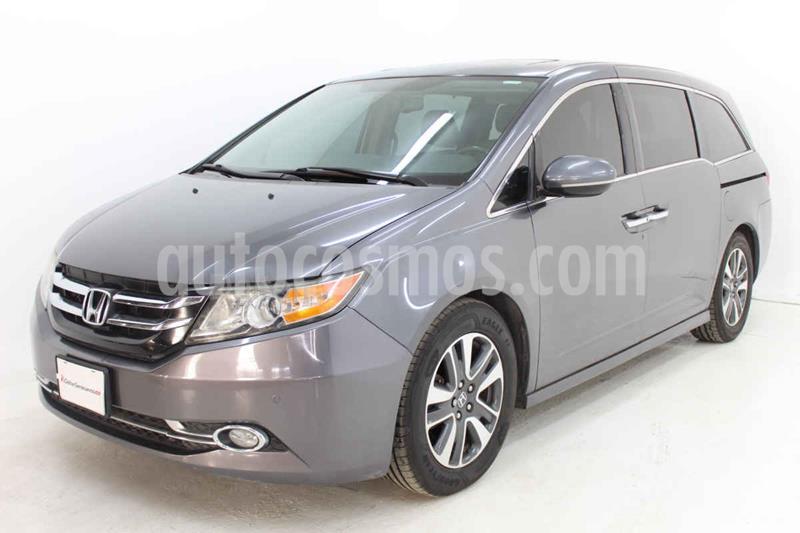 Honda Odyssey Touring usado (2015) color Plata precio $349,000