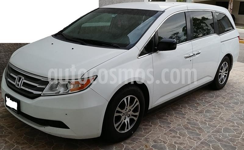Honda Odyssey EXL usado (2012) color Blanco precio $210,000