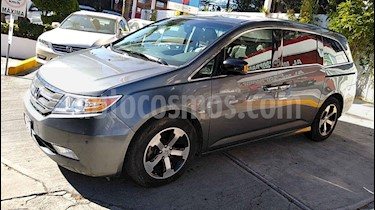 Honda Odyssey 5p Touring minivan aut CD q/c DVD usado (2012) color Gris precio $256,000
