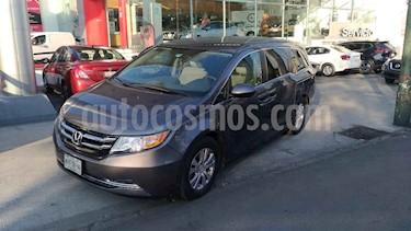 Honda Odyssey 5p EX V6/3.5 Aut usado (2014) color Gris precio $270,000
