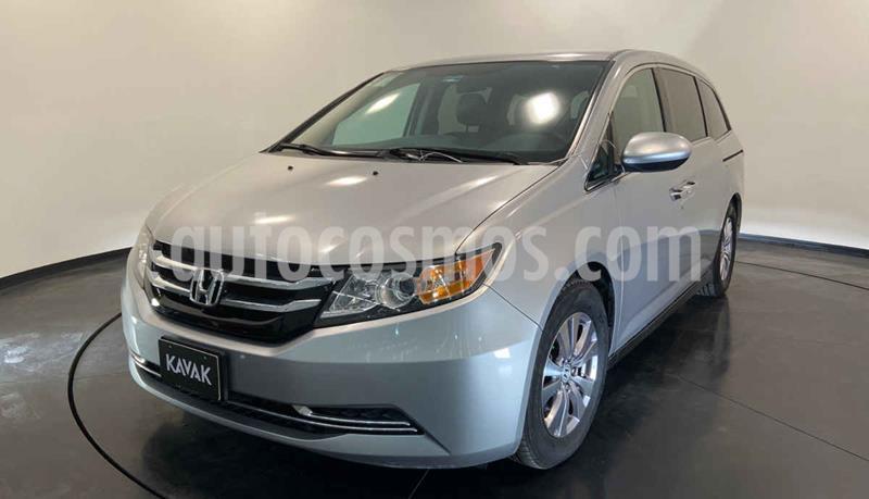 Honda Odyssey EX usado (2014) color Plata precio $259,999