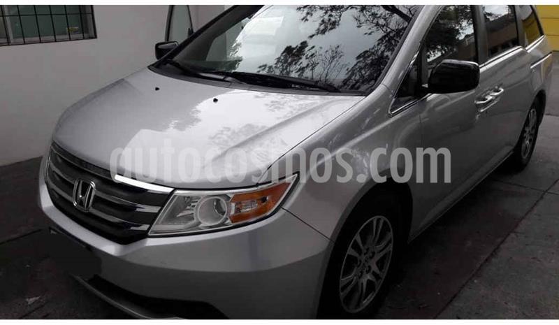 Honda Odyssey Touring usado (2012) color Plata precio $220,000