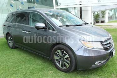 Honda Odyssey TOURING V6/3.5 AUT usado (2015) color Gris Oscuro precio $385,000