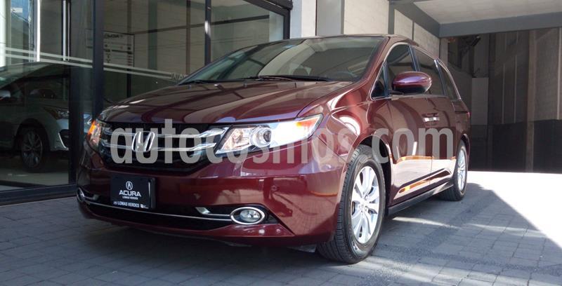 foto Honda Odyssey EXL usado (2016) color Rojo precio $379,000