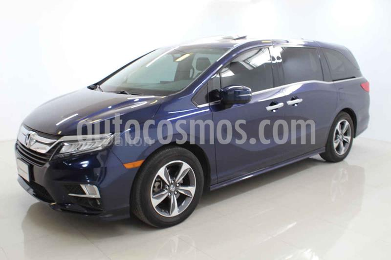 Honda Odyssey Touring usado (2019) color Azul precio $680,000
