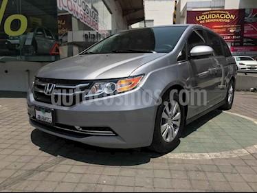 Honda Odyssey 5p EX V6/3.5 Aut usado (2016) color Plata precio $359,000