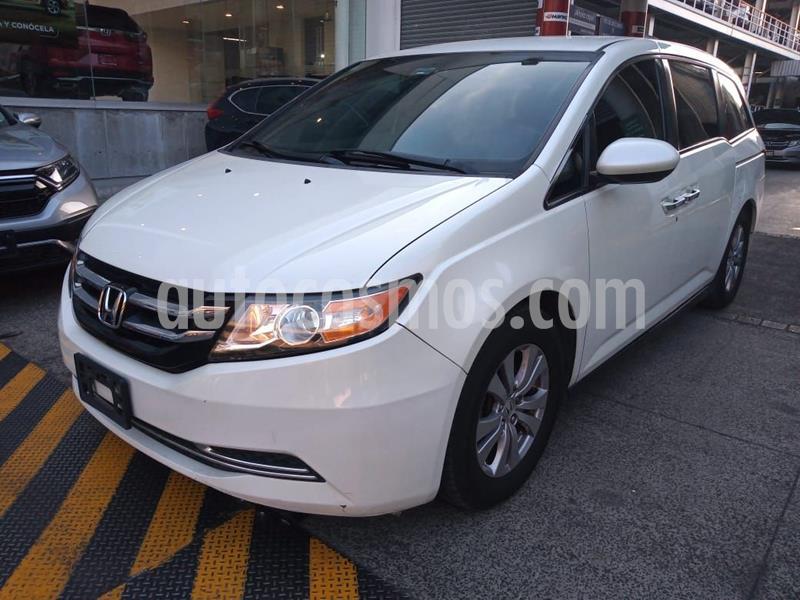 Honda Odyssey EX usado (2014) color Blanco precio $277,000