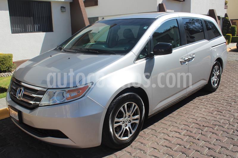 Honda Odyssey EXL usado (2011) color Plata precio $195,000