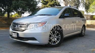Honda Odyssey 5P EXL TA A/AC. AUT. PIEL CD DVD F. HALOGENO RA-1 usado (2011) color Plata precio $209,000