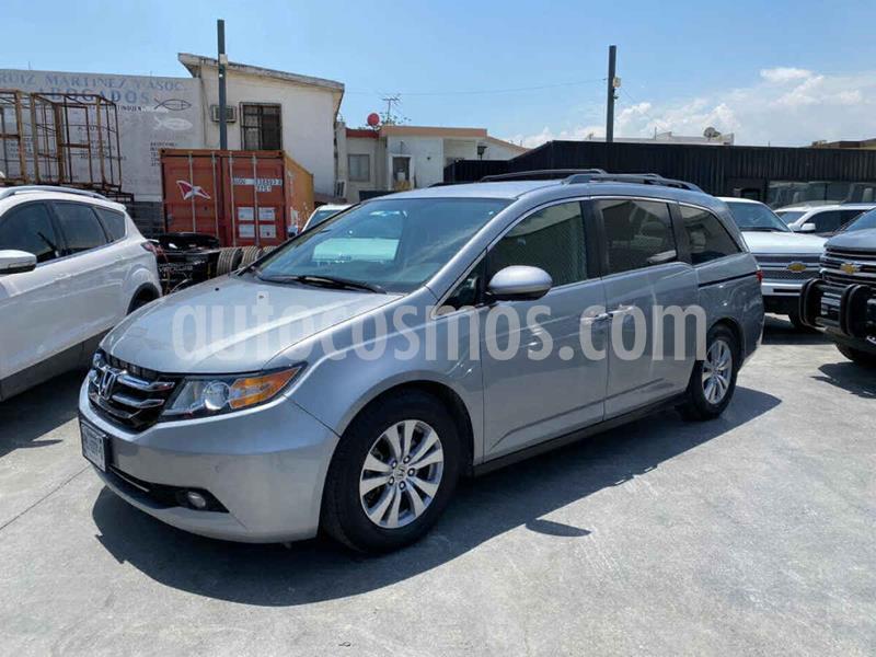 Honda Odyssey EXL usado (2016) color Plata precio $350,800
