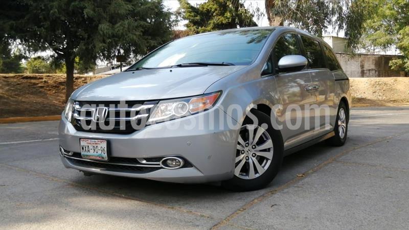 Honda Odyssey EXL usado (2016) color Plata precio $370,000