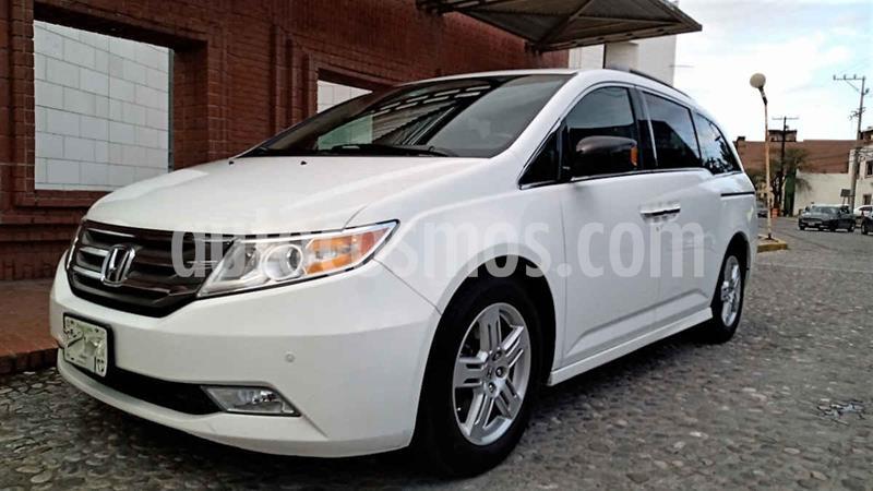 Honda Odyssey Touring usado (2013) color Blanco precio $255,000