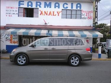 Honda Odyssey Touring usado (2010) color Champagne precio $155,000