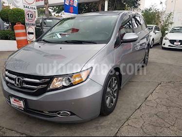 Honda Odyssey Touring usado (2016) color Plata precio $450,000