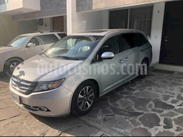 Foto venta Auto usado Honda Odyssey Touring (2015) color Plata precio $378,000