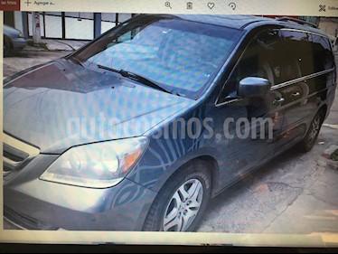 Honda Odyssey Touring usado (2007) color Gris Oscuro precio $135,000