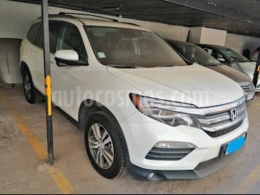 Honda Pilot 3.5L Touring AWD Aut  usado (2017) color Blanco precio $24.000.000