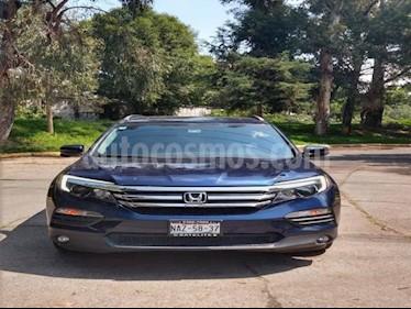 Foto venta Auto usado Honda Pilot 5p Touring SE V6/3.5 Aut (2016) color Azul precio $475,000