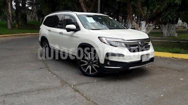 Foto Honda Pilot 5P TOURING TA CLIMATRONIC QCP PIEL MP3 DVD GPS F.  usado (2019) color Blanco precio $770,000